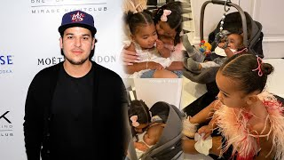 Rob Kardashian Throws Daughter Dream an Early 3rd Birthday Party!