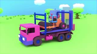 Cartoons For Toddlers - Cool Kit - Car Transporter (Ep13) - Toy cars - Anamation For Kids