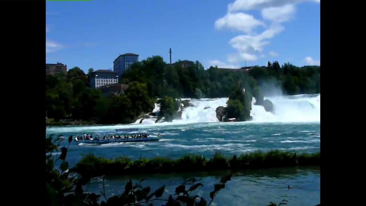 De Watervallen Van Schaffhausen.Watervallen Van Schaffhausen 1