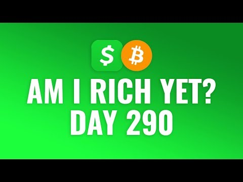 Buying $1 Bitcoin Every Day With Cash App - DAY 290