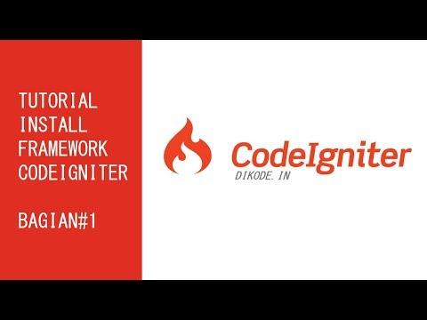 Cara Memakai Framework Codeigniter