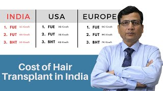 Cost of Hair Transplant in India | Hair Transplant | Dr. Anil Garg