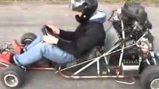 Yamaha R1 motor en un Kart. By...Ozuque...