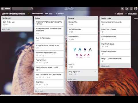 How I Use Trello as a Digital Daily Planner and Virtual Desktop