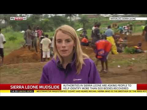 Mass burials for Sierra Leone mudslide victims - Rebecca Williams