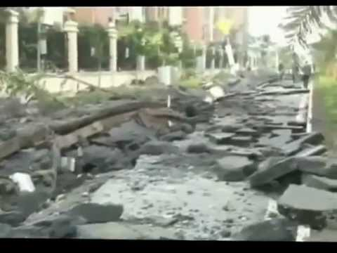 Huge Sewer Gas Explosion in Southern China - 2012-01-23