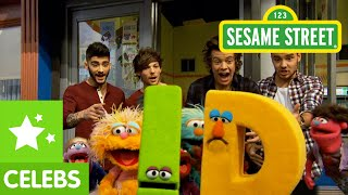 Repeat youtube video Sesame Street: 1D Visits Sesame Street (One Direction Too!)