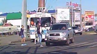 Автоледи сбила пешехода