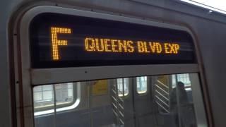 IND West End Local: Manhattan & Coney Island-Stilwell Avenue bound F local trains @ Bay 50th Street!