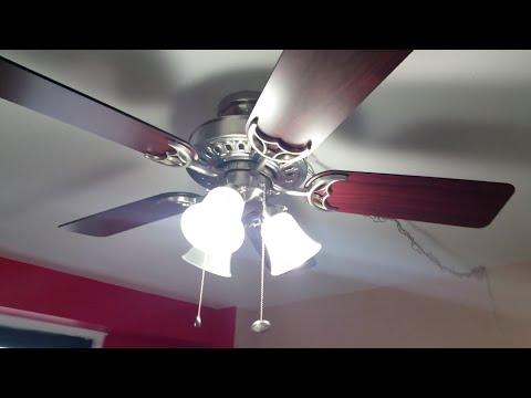 Diy How To Install Ceiling Fan Using Swag Kit On Concrete