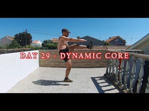 DAY 29 - 25 MIN FAT BURNER WORKOUT -  DYNAMIC CORE