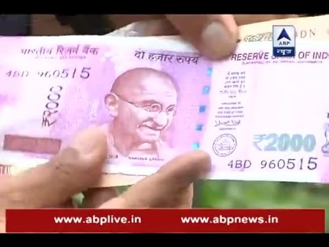 Size of Rs 2000 note is the reason behind ongoing cash crisis