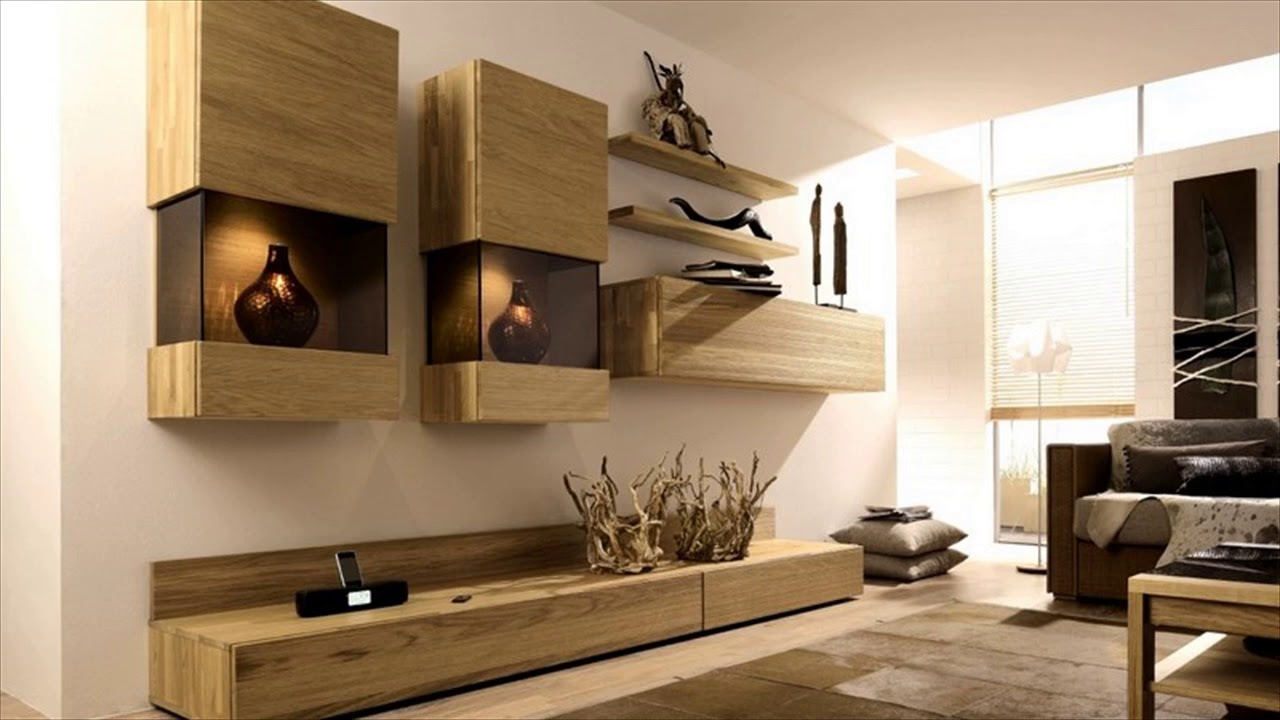 Modern Tv Wall Mount Stand Cabinets Design Ideas - YouTube