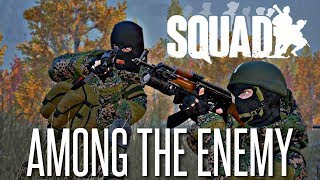 WALKING AMONG THE ENEMY - Squad Funny Moments (Happy Thanksgiving!)