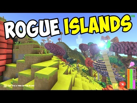 Rogue Islands Gameplay – Cube World Meets Minecraft Sandbox Rogue-like?!