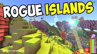 Rogue Islands Gameplay - Cube World Meets Minecraft Sandbox Rogue-like?!