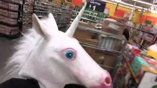 Unicorn in Walmart