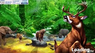 Hunting Jungle Wild Animals FPS Shooting Games Android Gameplay