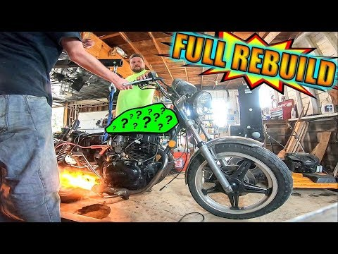 Fixing the Cheapest Motorcycle on Craigslist