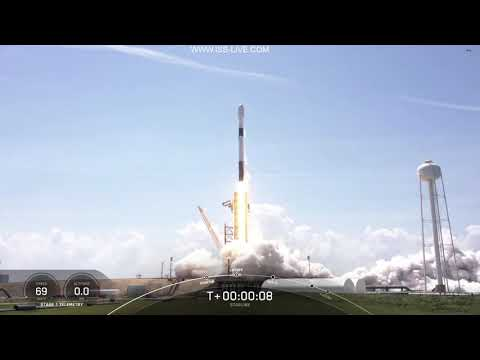SpaceX Starlink Mission - Falcon 9 launch