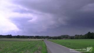 16.06.2011 - Kreis Viersen - Schwere Gewitter bei Kaltfrontpassage