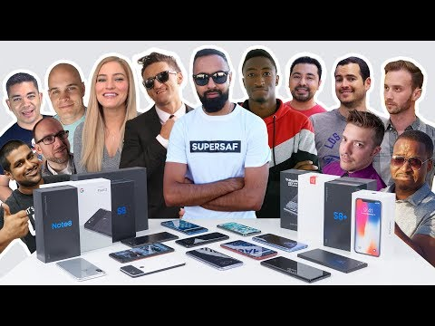 Which SMARTPHONES Do We Use? YOUTUBER Edition with Casey Neistat, MKBHD, iJustine + More