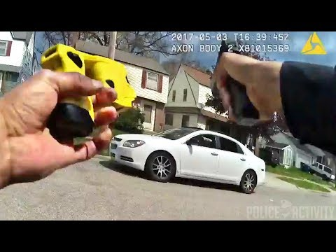 Bodycam Shows Fatal Police Shootout in Grand Rapids, Michiga
