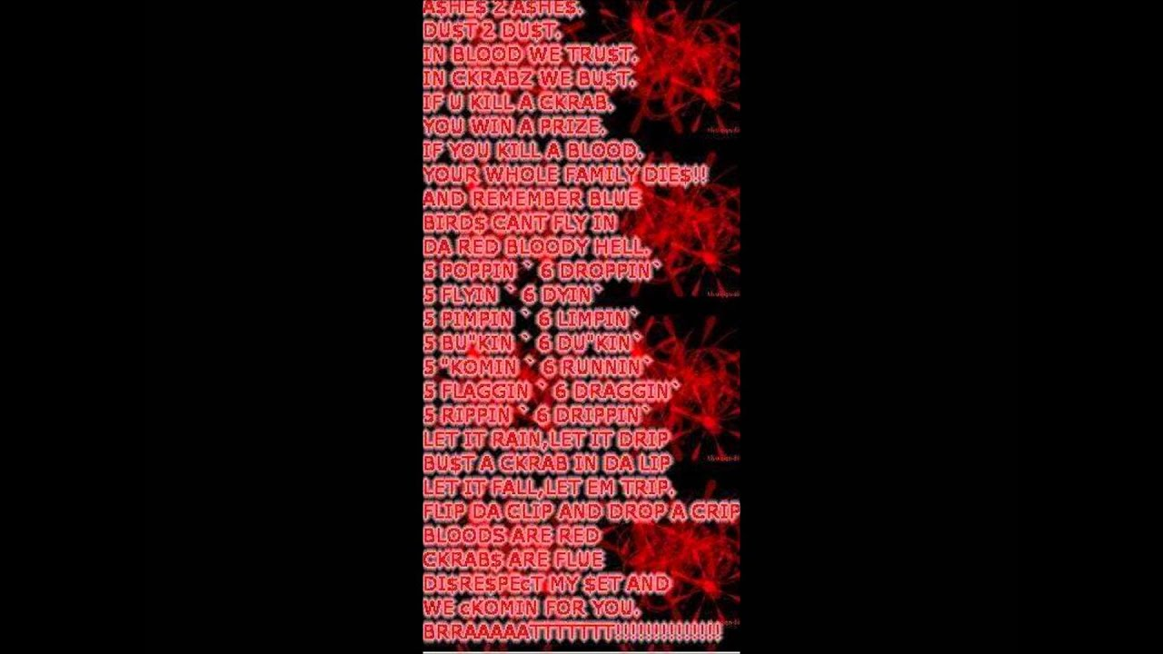 Bloods Poems 5