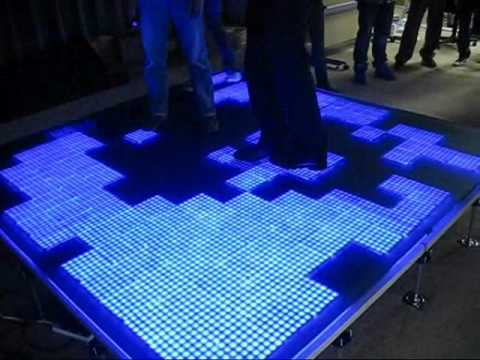 Interactive Led Floor Tile Youtube
