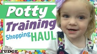 It's Potty Training Time! || Shopping HAUL || Using The