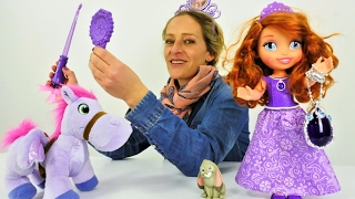 Die Wunderbox - Spielspaß mit #PrinzessinSofia - Wo sind denn Kalle und Minimus?