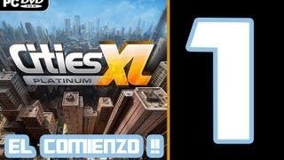 Cities XL Platinum. ¿Cómo empezar una ciudad bien? 1080p !
