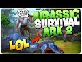 Totally NOT a RIP OFF of Ark Survival Evolved - Jurassic Survival Island Ark 2 Gameplay