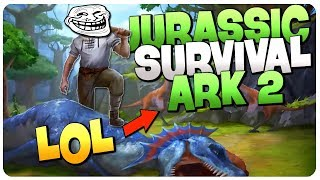 Totally NOT a RIP OFF of Ark Survival Evolved - Jurassic Survi…