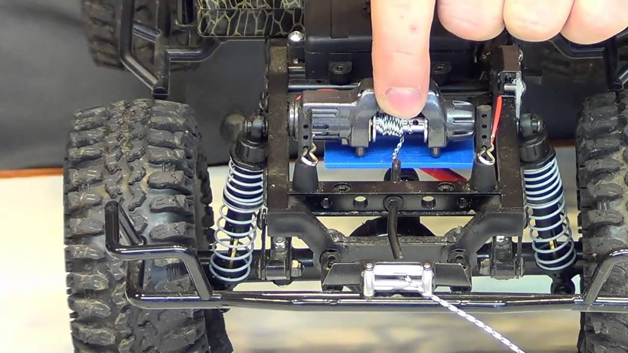 Rc Mike Winch Control And Function Youtube