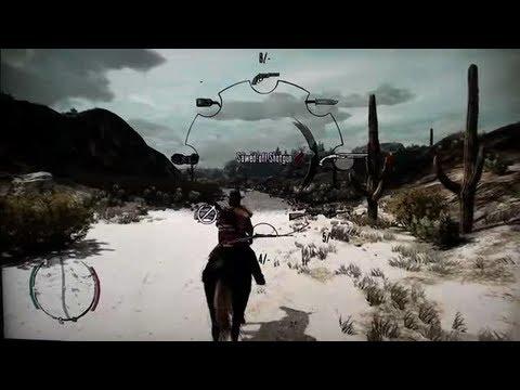 Weapons Cheat (Gun Set 1) - Red Dead Redemption