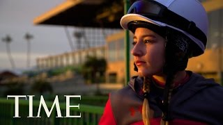 The Apprentice: Jockey Amelia Hauschild Races For Her First Win   TIME