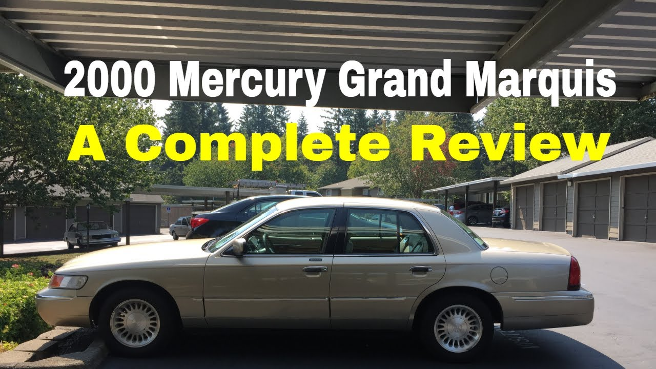 2000 mercury grand marquis ls complete walkaround review features and options youtube 2000 mercury grand marquis ls complete walkaround review features and options