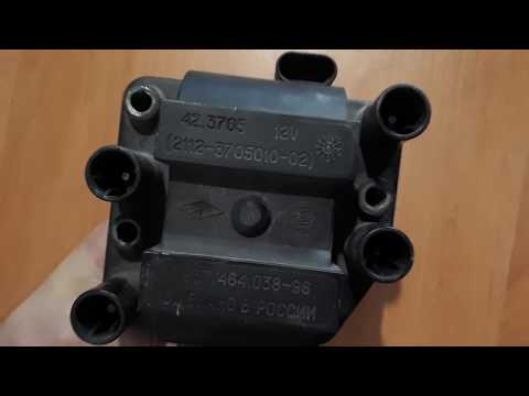 Ремонт катушки зажигания 42.3705 - Видео из ютуба