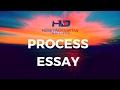 Process Essay Nedir