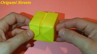 Как сделать коробку из бумаги. Оригами коробка из бумаги.