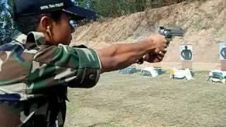สนามยิงปืนโรงเรียนนายร้อยตำรวจ การยิงปืน ระบบ I P T