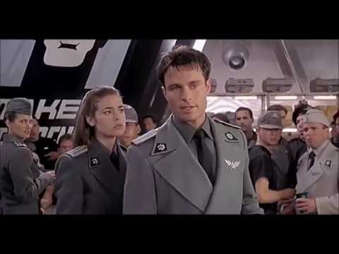 "STARSHIP TROOPERS [1997] Scene: ""Disregard Rank""/Fight"