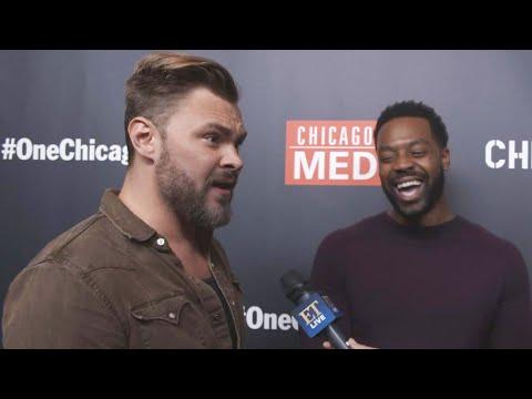 'Chicago P.D.': Patrick Flueger And LaRoyce Hawkins Tease 'Burzek' Reunion (Exclusive)