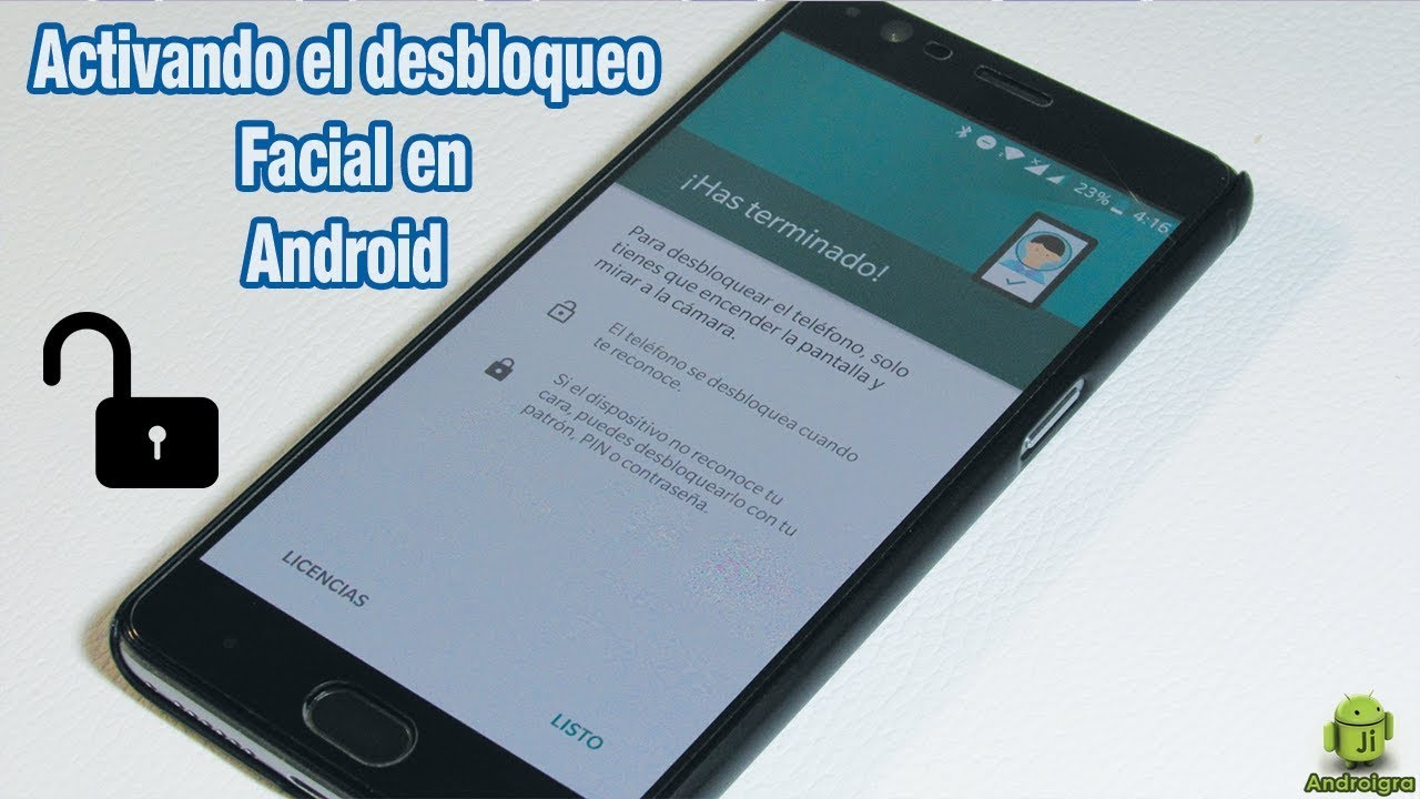 7fb5c7b6989 Cómo activar el desbloqueo facial en android al estilo Iphone X ...