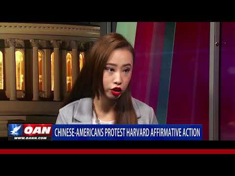 Chinese-Americans protest Harvard affirmative action