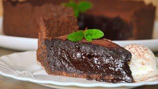 ШОКОЛАДНЫЙ ТРЮФЕЛЬНЫЙ ПИРОГ ✧ Chocolate Truffle Pie ✧ Марьяна