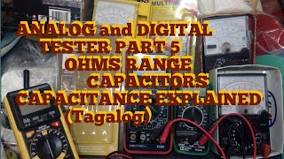 Analog-Digital Tester part 5 Free Tutorial lesson Electrical/Electronics Technology
