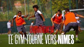 Entraînement : le Gym tourné vers Nîmes