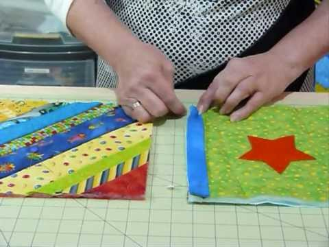 How to join up Quilt as you Go blocks and borders - Quilting Tips ... : quilt as you go technique - Adamdwight.com